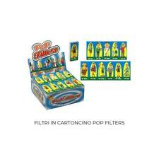 Filtri in carta pop filters -scatola da 50 blocchetti da 32fogli
