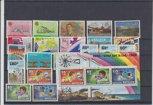 Niederl. Antillen Bessere Marken aus Jahrgang 1988 Postfrisch