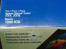 Epson Printer ink 777 777i  color cartridge