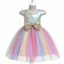 Tutu Princess Girl Baby Formal Dresses Dress Party Kid Flower Wedding Bridesmaid