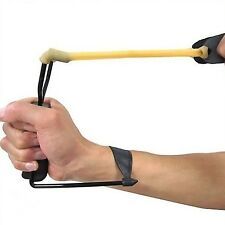 Folding Slingshot Powerful Hunting Prep Wrist Brace Outdoor Toys Sniper New Hot