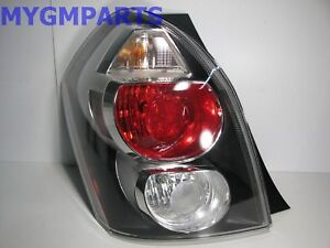 PONTIAC VIBE LEFT TAIL LAMP DRIVER 2009-2010 NEW OEM GM  88975724