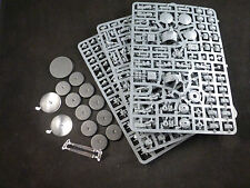 40K Tau Fire Warriors Team + Drones + Tactical Support Turret on Plastic Frame