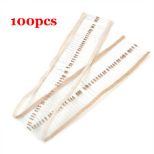 100Pcs 1k OHM 1/4W Carbon Film Resistor 1kohm 0.25W 5% For Arduino