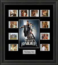 Tomb Raider Framed Film Cell Memorabilia Filmcells Movie Cell Presentation