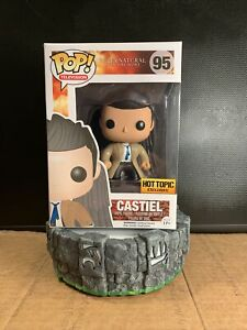 Funko Pop! Castiel with Wings #95 Supernatural Hot Topic Exclusive Damaged Box