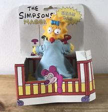 The Simpsons Vintage 1993 Jemini Rare Maggie Simpson Doll Bean Bag Carded