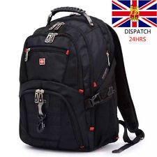 "15"" Waterproof Swiss Gear Men Travel Bags MacBook Laptop Hike Backpack Hot"