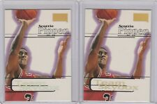 1997-98 Skybox Premium  #242 Scottie Pippen Lot of 2