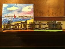 Wooden Stockade Fence for 54mm toy soldiers