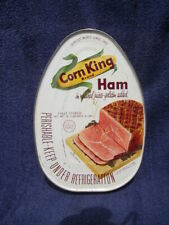 vintage wilson corn king advertising can canned ham meat key wind tin empty iowa