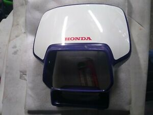 Honda CRM125R / CRM125 / CRM 125 - NOS Headlight Cowl - Purple