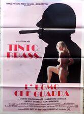manifesto movie poster 2F L'UOMO CHE GUARDA TINTO BRASS VASILISSA CASALE CINEMA