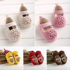 Newborn Baby Boys Infant Toddler Pram Crib Shoes Soft Slippers Prewalker Sneaker