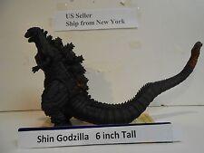 2016 SHIN GODZILLA  6.5  inch tall - Movie Monster Japan Bandai