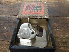 Antique Kriss Kross Safety Blade Stropper Razor Blade Sharpener with Box