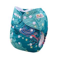 Alvababy Cloth Diaper Washable Adjustable Reusable Pocket Nappy+1 Insert