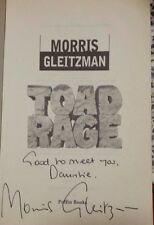 SIGNED COPY! Toad Rage Morris Gleitzman good used condition Paperback 1999