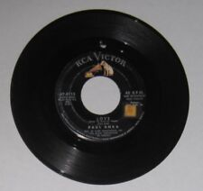"""Paul Anka - 45 - """"Love (Makes The World Go 'Round)"""" / """"Crying In The Wind""""  VG-"""