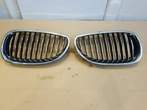 04-06 BMW 525i 530i 525xi 530xi Right and left Grille 51137027066 511370265