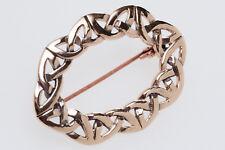 Licarna Mittelalter Fibel Keltische Knoten Brosche Bronze Gothic Schmuck - NEU