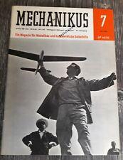 Mechanikus - Ein Magazin für Modellbau und handwerkliche Selbsthilfe, Juli 1964