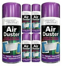 More details for 400ml air duster spray gas lot electronic laptop cleaner compressed printer pc