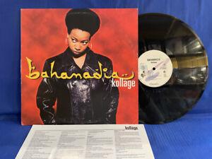 BAHAMADIA KOLLAGE 35484 CHRYSALIS INSERT ORIGINAL USA LP EXC+