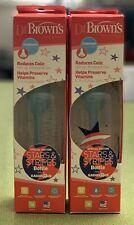 Dr Brown Special Edition Bottle Star Stripes 8oz (2 Bottles)