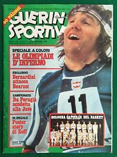 GUERIN SPORTIVO 1976 n 8 con POSTER STORY DINO ZOFF BASKET SINUDYNE BOLOGNA