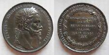 V. Emanuele II medaglia a ricordo dell'annessione della Toscana ed Emilia 1860