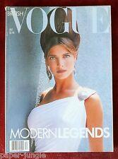 Vogue British ~ December 1988 ~ Stephanie Seymour Madonna Beatrice Dalle