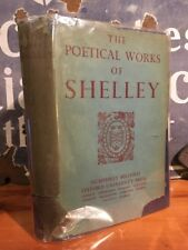 Very Rare 1934 Oxford Press The Complete Poetical Works of Percy Bysshe Shelley