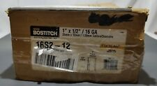 "Bostitch 16s2-12 1"" x 1/2"" 16GA Staples Construction Staples 18,000 T1"