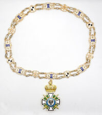 German Prussian House Order of Hohenzollern with Swords Collar