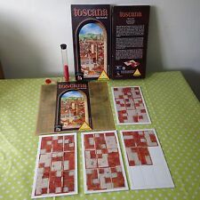 TOSCANA BOARD GAME PIATNIK 2001 RARE COLLECTABLE NICK NEUWAHL VENICE CONNECTION