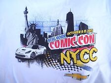 New New York Comic Con 2015 T-Shirt Extra Large XL New Balance 100% Cotton NYCC