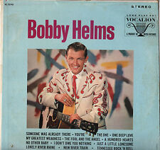 "BOBBY HELMS ""TENNESSEE ROCK 'N' ROLL"" COUNTRY ROCKABILLY 60'S LP VOCALION 73743"