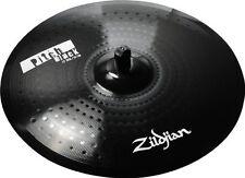 "Zildjian Pitch Black Series 22"" Ride Cymbal w/ Bell Ride #ZPB22R - New Old Stock"