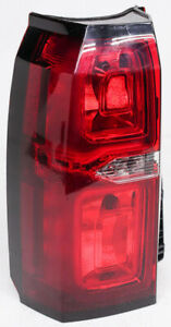 Drivers Taillight Tail Lamp Replacement for Chevrolet Suburban Tahoe SUV 25862701