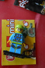 Lego Mini Figure Collectible Series 10 No 6 Sky Diver Minifigure