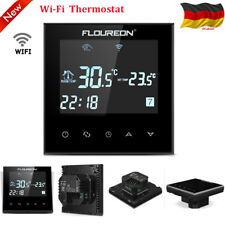 Floureon WiFi Funk Thermostat Fußbodenheizung Temperaturregler Touchscreen LCD