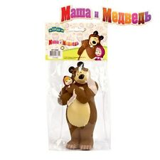 Masha and the bear, russian cartoon toys, plastizol