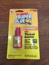 Super Glue Corp/Pacer Tech Thread Locker, Red, 6-ml.