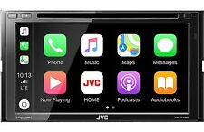 NEW JVC KW-V840BT 2 DIN DVD/CD Player CarPlay Android Auto Bluetooth SiriusXM