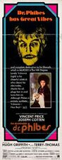 Abominable Dr Phibes 14inx36in Insert Movie Poster Replica