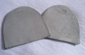 2 pairs Leather Heels - (Can be cut to size) - Brand New