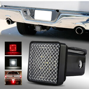 "LED Run/Brake/Reverse Towing Hitch Cover Light for Class III 2"" Trailer Receiver"