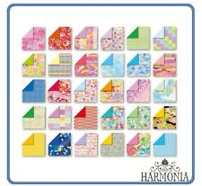 Japanese Origami Paper CHIYOGAMI Double Side 7.5x7.5cm 30Sheets Japanese pattern