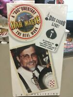 VHS Bar Magic Volume 1 The Real Work Video Tape Tower Comedy Magic Bar